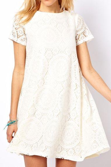 1000 ideas about white lace dress short on pinterest