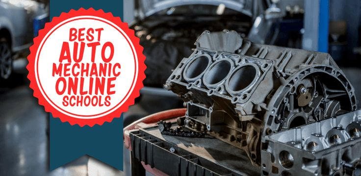 The best auto mechanic online schools and certification programs to help you learn auto mechanics easily in the comfort of your garage!