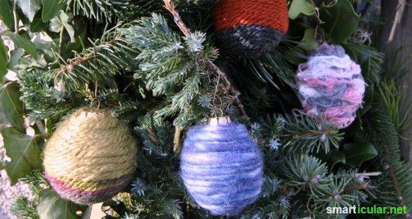 Weihnachtsbaumkugeln aufwerten statt wegwerfen: 7 Ideen
