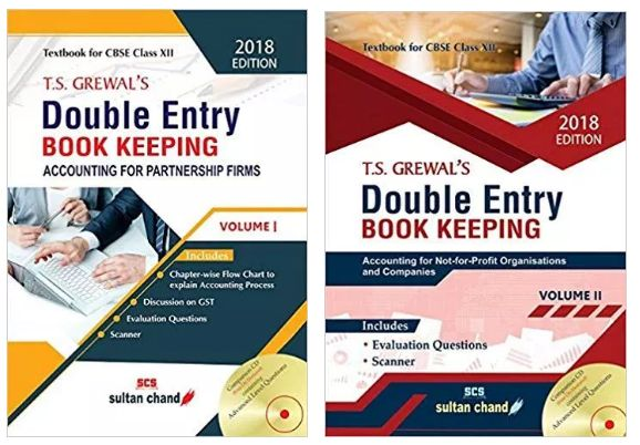 TS Grewal Accountancy Class 12 Solutions 2018 Volume 1 & 2 ...