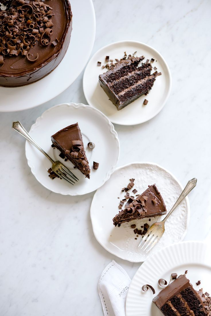 Chocolate Ganache Celebration Cake | Now, Forager | Teresa Floyd Photography