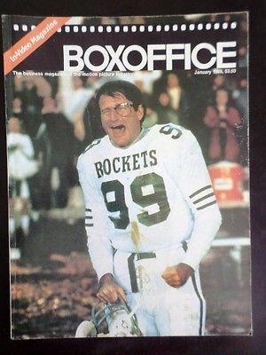 Boxoffice Magazine 1986 Jan THE BEST OF TIMES: ROBIN WILLIAMS & KURT RUSSELL