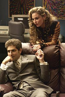Christopher Moltisanti & Adriana La Serva. You know how that ended...