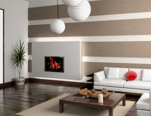8 living room wall paper ideas