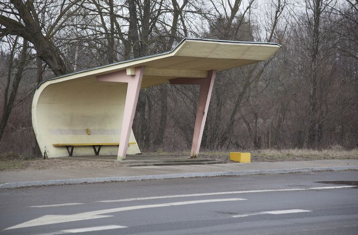 The Whimsical Forms of Soviet Bus Stops