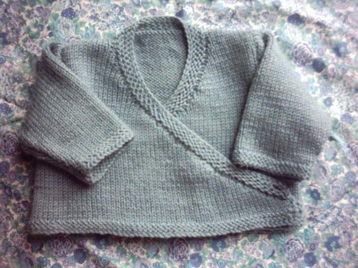 photo tricot modèle tricot bébé gratuit phildar 4