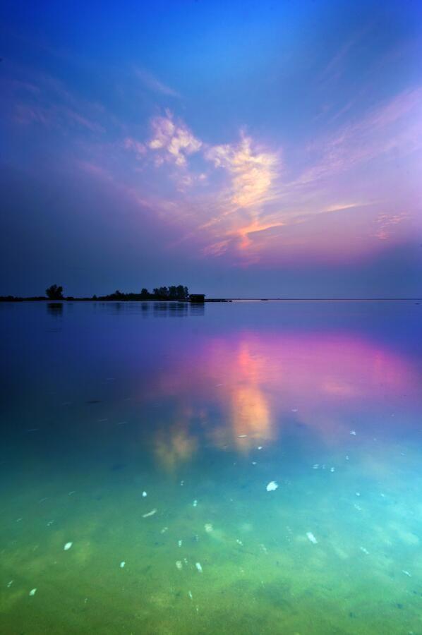 西インド諸島、バハマの海