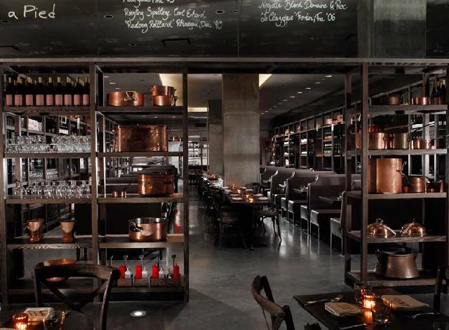 Kaper Design; Restaurant & Hospitality Design: DBGB Kitchen & Bar