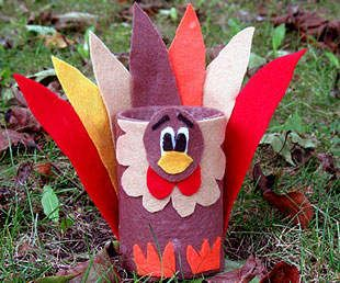 Tin Can Turkey Craft | Spoonful