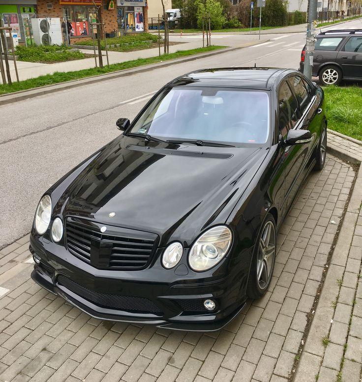 4 Door Convertible >> Mercedes w211 E63 AMG black beast | Mercedes