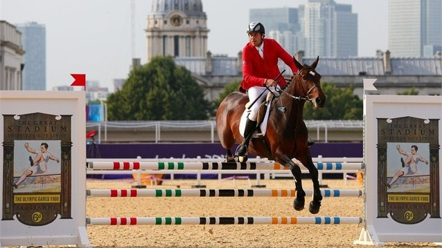 Andrei Moiseev of Russia riding Darcland competes in the Riding Show Jumping / Photos - 2012 Olympics   London 2012