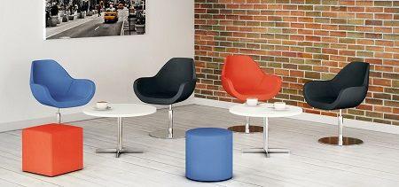 Reception Seating And Tables Pop - Office & Home Office Furniture UK