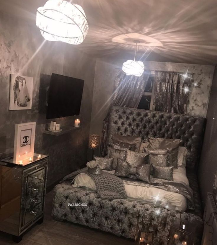 Pin By Laila On Baddie 2 In 2019 Bedroom Decor Bedroom