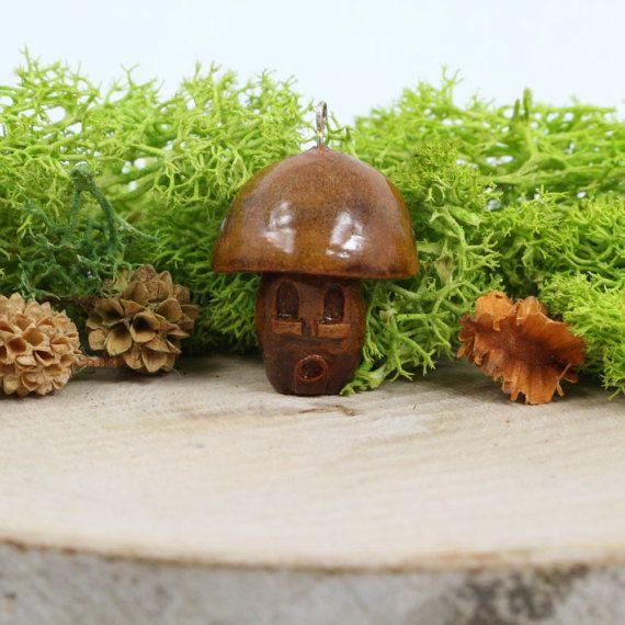 Hey, I found this really awesome Etsy listing at https://www.etsy.com/listing/495744370/troll-house-mushroom-pendant-avocado