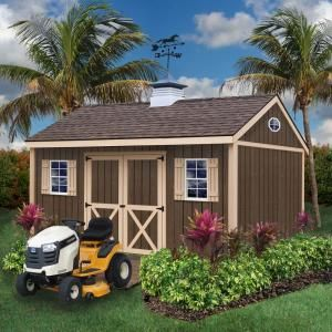 Best Barns, Brookfield 16 ft. x 12 ft. Wood Storage Shed Kit, brookfield_1612 at The Home Depot - Mobile