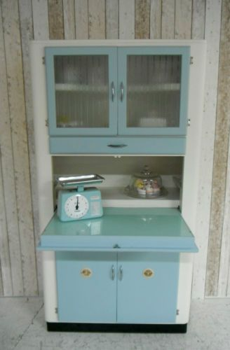 Vintage Retro Kitchen Cabinet Larder Kitchenette 50s 60 S Free Standing Kitschy Kitchens Pinterest And Cabinets