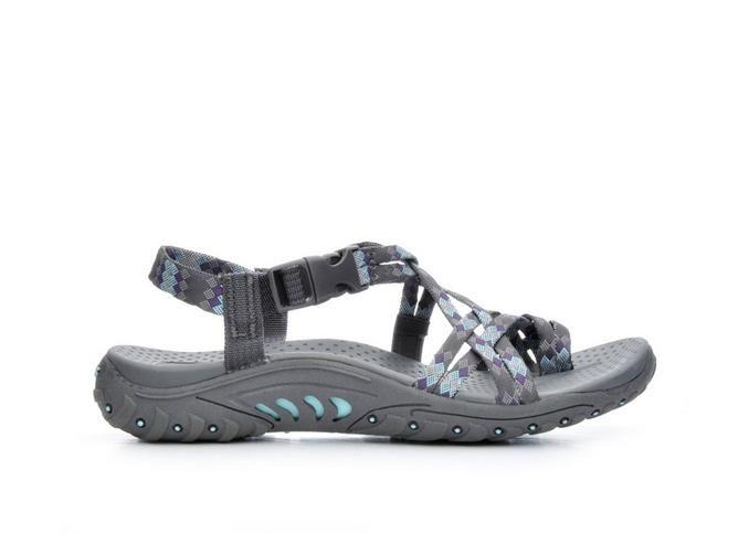 Women's Skechers Reggae 40950 Grey | Shoe Carnival