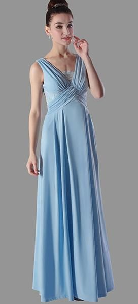 BM202 elegant with V neck and lace back.  $295 to buy and $195 to hire (for a new gown)