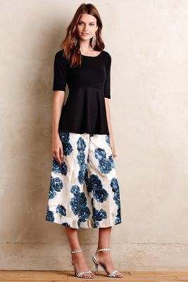 Anthropologie OVERSIZED CULOTTES #AnthroFave
