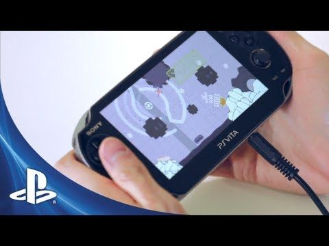 Sound Shapes™Level Editor Feature // this game is the reason I bought a Vita and it comes out next week! My excitement is immeasurable.