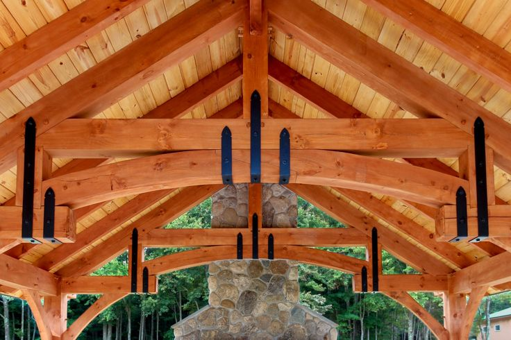 7 best wooden beam brackets images on pinterest for Old world traditions faux beams