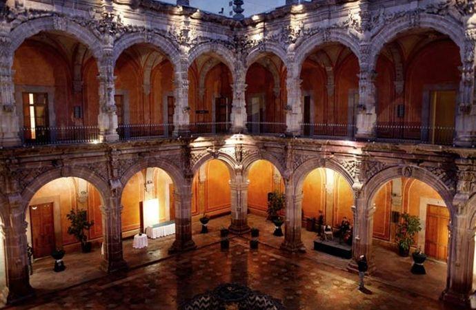 Historic center of Santiago de Queretaro