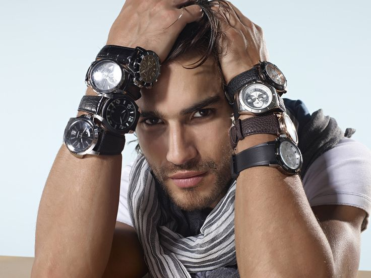 guy wearing many watches Style &amp Fashion Pinterest - Current Mens Hairstyles