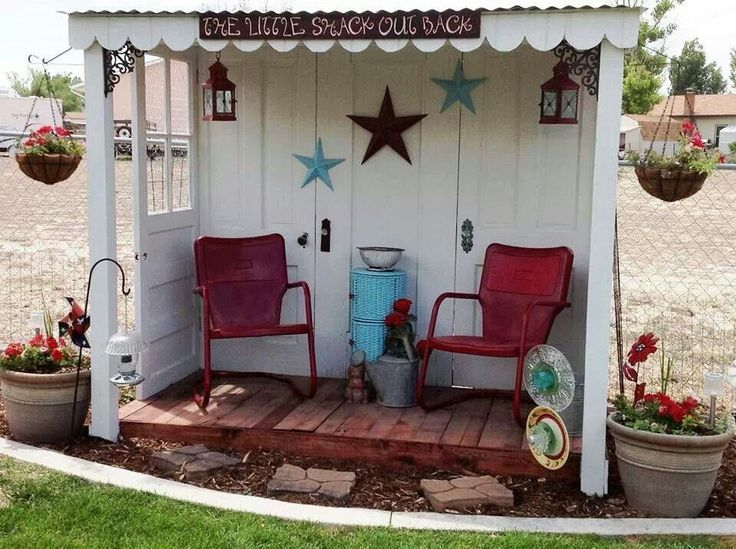 Pingl par amy koronka sur gardening pinterest cabane for Jardin decor 37