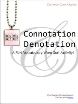26 best connotation and denotation images on Pinterest