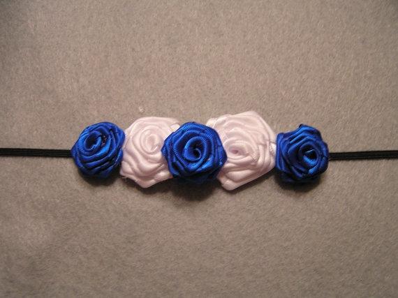 cute UK ribbon rosette headband