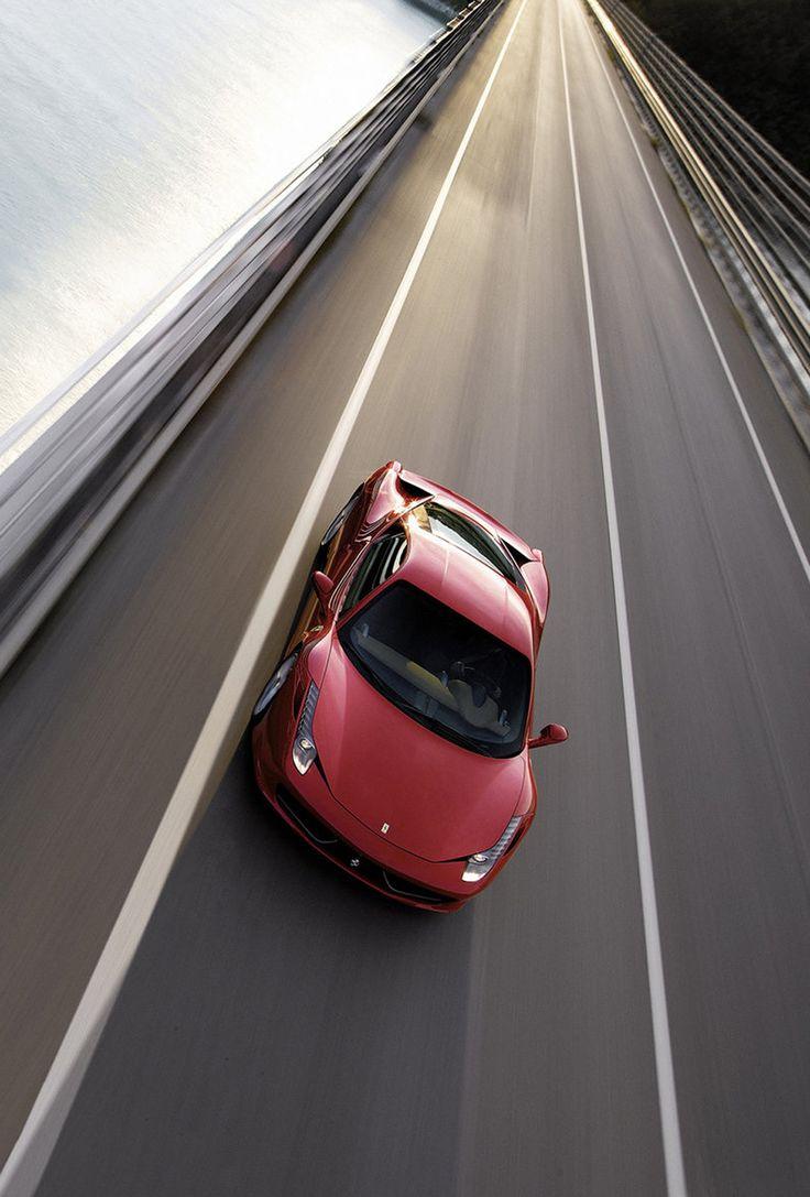 Ferrari 458 italia cruising landmarkautoinc