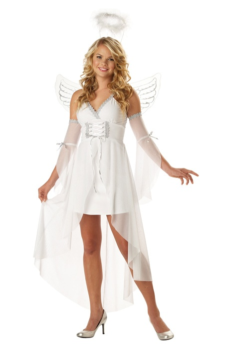 heavens angel teen costume for halloween pure costumes - Girls Teen Halloween Costumes