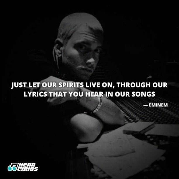 Eminem Song Lyric Quotes: Another Eminem Quote