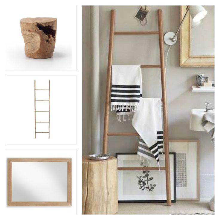 M s de 25 ideas incre bles sobre taburete escalera en - Taburete escalera madera ...