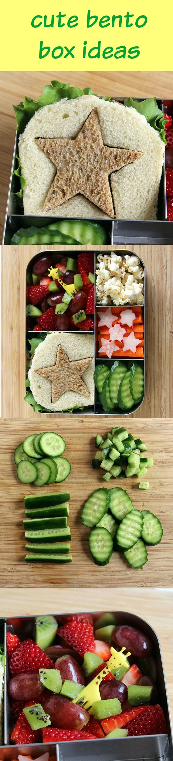 Have some picky eaters in the household? Pull together an adorable bento box lunch that'll entice them to eat fruits, vegetables, and other healthy ingredients.