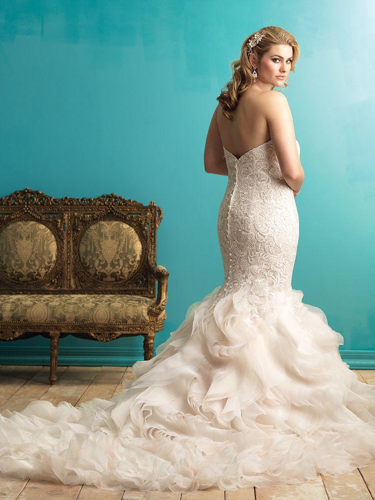 Best 50+ Allure Bridal Gowns images on Pinterest | Short wedding ...