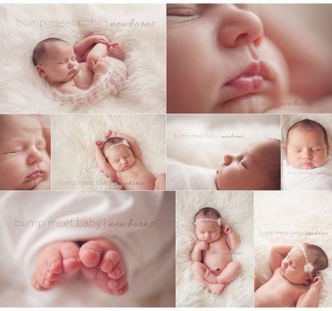 Leicht umzusetzende Posen und Fotoideen für Babys und Neugeborene :: Simple Natural Newborns Newborn Posing Newborn Macro