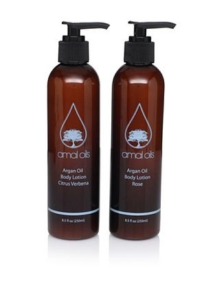 Amal Oils Rose and Citrus Lotion Duo