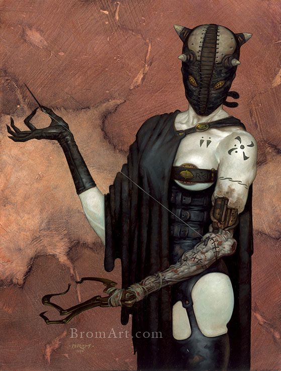 The Art of Brom | The Dark Fantasy Paintings of the Artist Brom