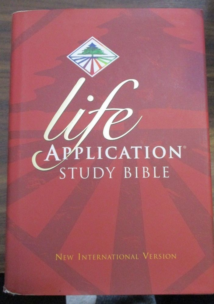 Life Application Study Bible-NIV by Tyndale House Publishers