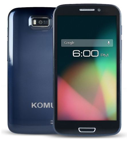 """Cellulare Android komu K1 smartphone display 5,3"""" MTK MT6577 1GH, ARMv7 dual cor"""
