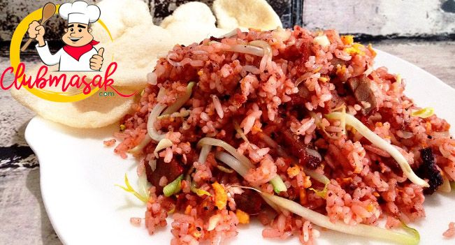 Resep Nasi Goreng Charsiu, Resep Hidangan Cina Favorit, Club Masak