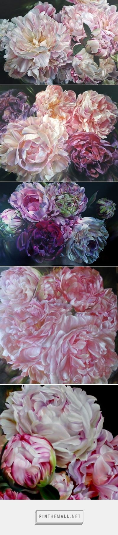 Floral Oil Paintings by marcella kaspar - created via https://pinthemall.net