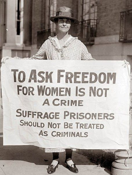 Suffragettes Are Not Criminals