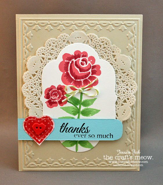 iEmbellish: TCM: August Release Blog hop also used Potted Garden for sentiment