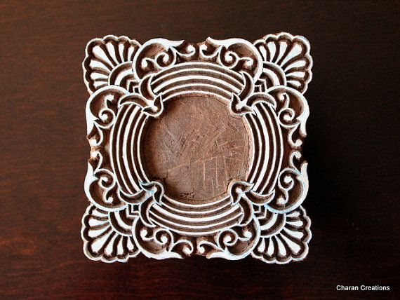Hey, I found this really awesome Etsy listing at https://www.etsy.com/listing/193569379/wood-block-stamp-tjaps-indian-wood-stamp