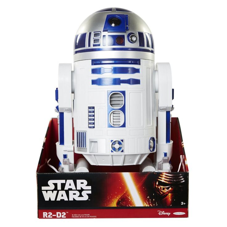 R2-D2 Classic Robot http://bobbiejosonestopshop.com/products/r2-d2-classic-star-wars-robot  #BobbieJosOneStopShop #StarWars #R2D2 #Robot #Droid #ActionFigures #Collector #Toy #Gifts