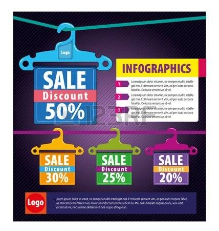 infographics for the fashion industry or selling clothing  fashion Illustration
