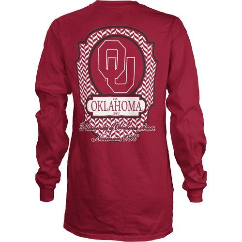 Image for Three Squared Women's University of Oklahoma Lattice T-shirt from Academy