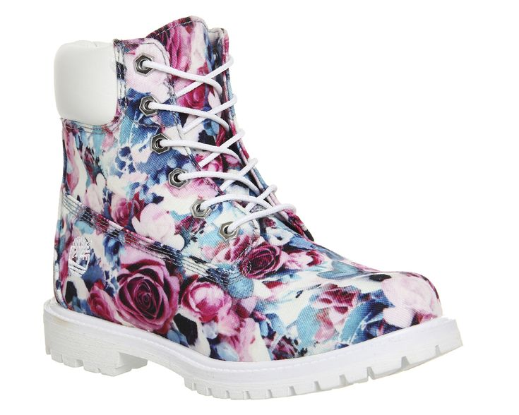 Buy Floral Exclusive Timberland Premium 6 Boots from OFFICE.co.uk.